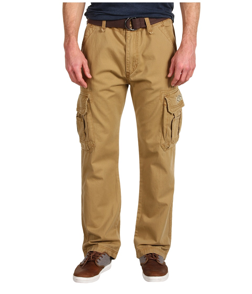 UNIONBAY - Survivor IV Belted Cargo Pant (Rye) Men's Casual Pants