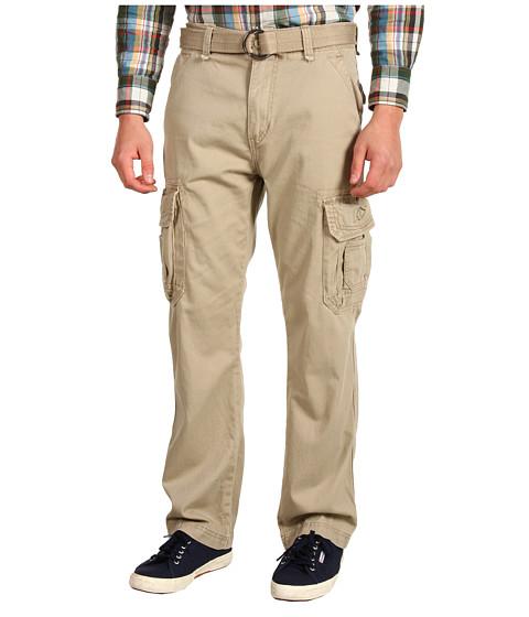 UNIONBAY - Survivor IV Belted Cargo Pant (Desert) Men's Casual Pants