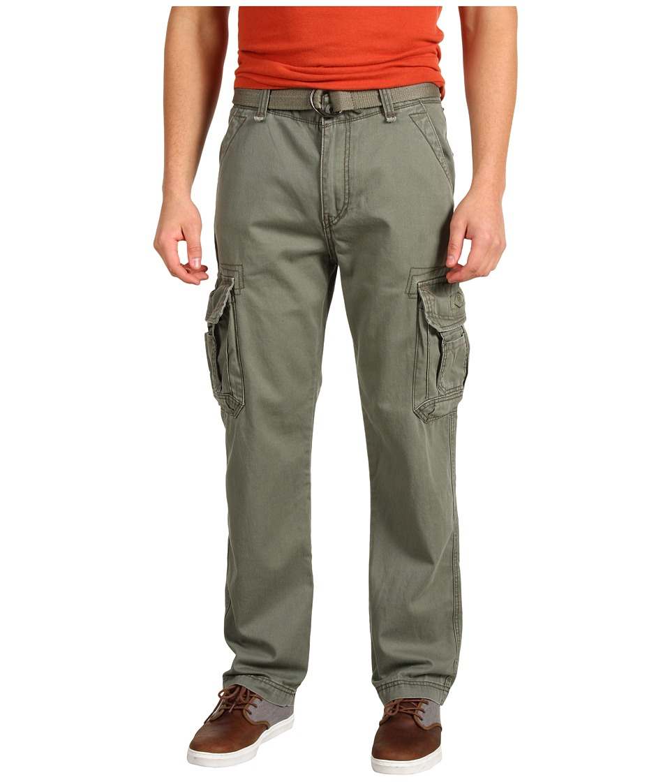 UNIONBAY - Survivor IV Belted Cargo Pant (Leaf) Men's Casual Pants