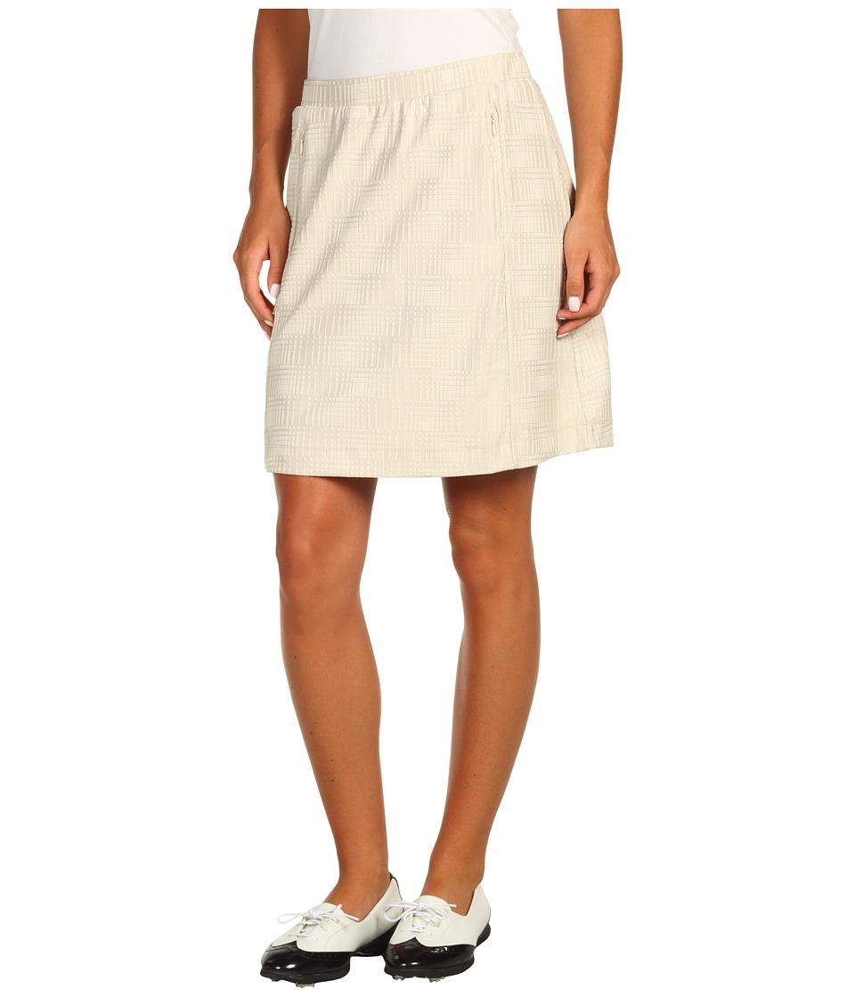 Tail Activewear - Elevation Elastic Waist Skort (Khaki) Women's Skort