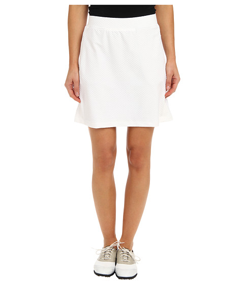 Tail Activewear - Elevation Elastic Waist Skort (White) Women's Skort