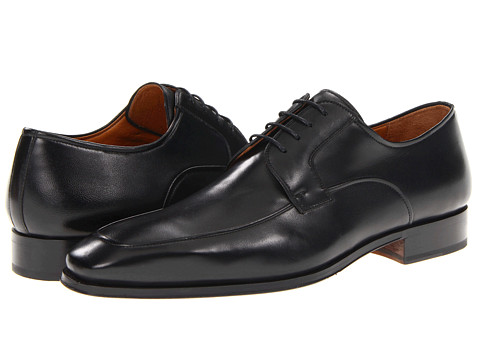 Magnanni - Gabriel (Black) Men's Plain Toe Shoes