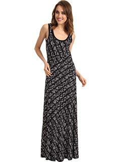 SALE! $59.99 - Save $70 on Calvin Klein Tweed Stripe Bias Cut Maxi Dress (Black True White Multi) Apparel - 53.68% OFF $129.50