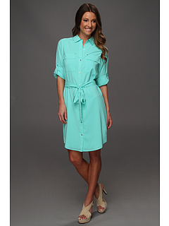 SALE! $49.99 - Save $80 on Calvin Klein Splash Shirt Dress (Splash) Apparel - 61.40% OFF $129.50