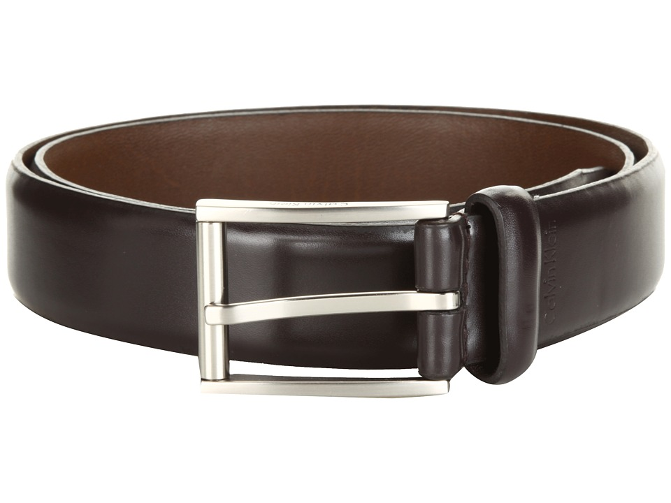 Calvin Klein - 31MM Belt (Dark Brown) Men's Belts