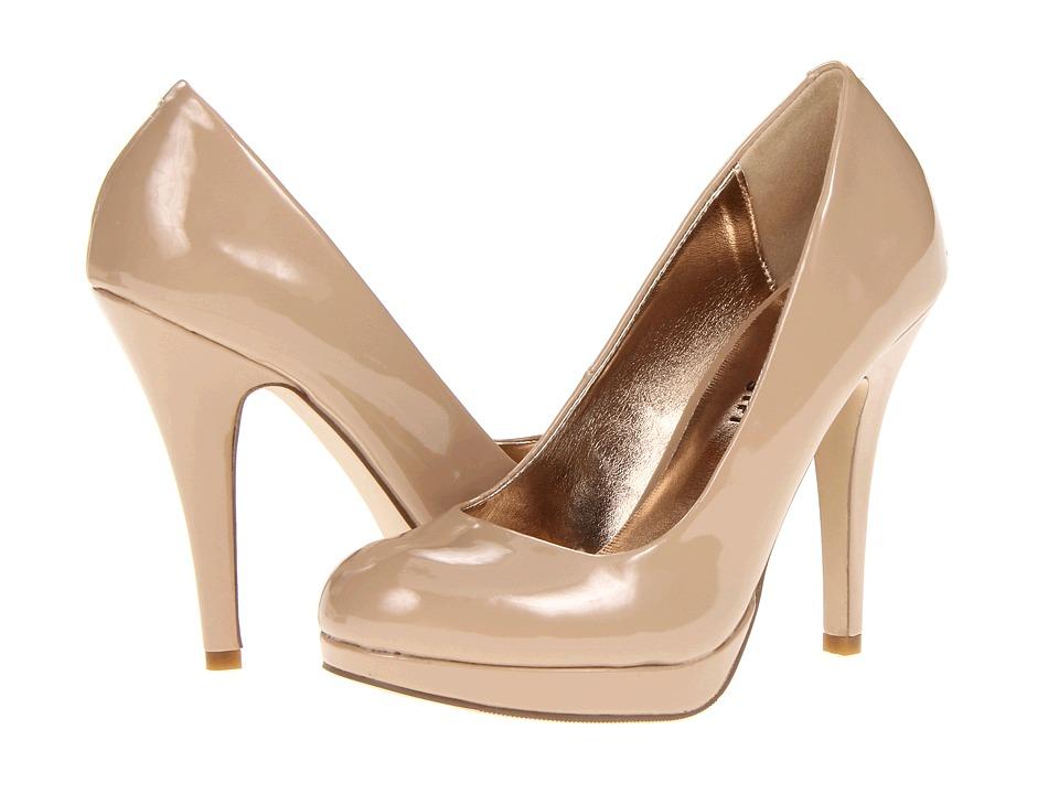 Madden Girl - Fastenn (Nude Patent) High Heels