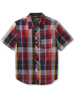 SALE! $14.99 - Save $29 on Element Kids Larchmont S S Button Shirt (Big Kids) (Indigo) Apparel - 65.93% OFF $44.00