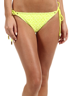 SALE! $11.99 - Save $45 on Hale Bob Lacy Afternoon Bikini Bottom (Chartreuse) Apparel - 78.96% OFF $57.00