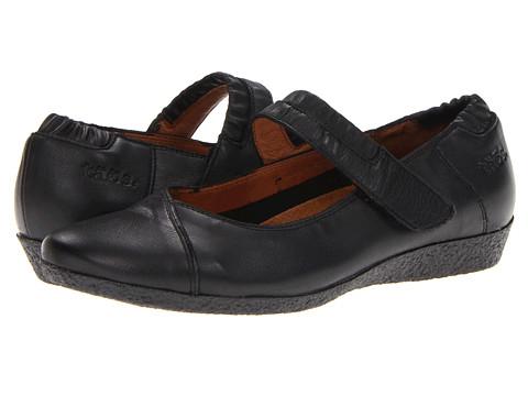 taos Footwear - UnStrap (Black) Women's Flat Shoes