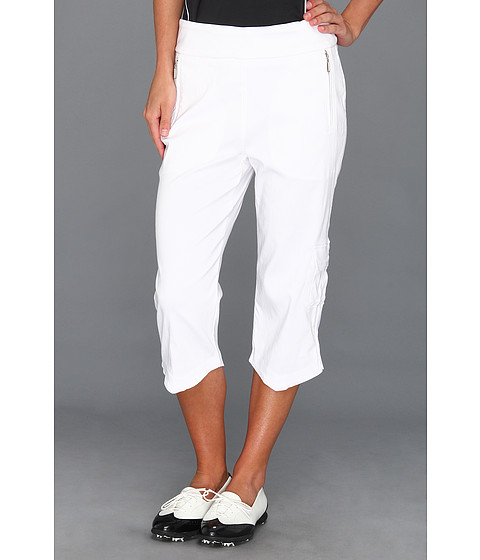 Jamie Sadock - Skinnylicious 28.5 Pedal Pusher (Sugar White) Women