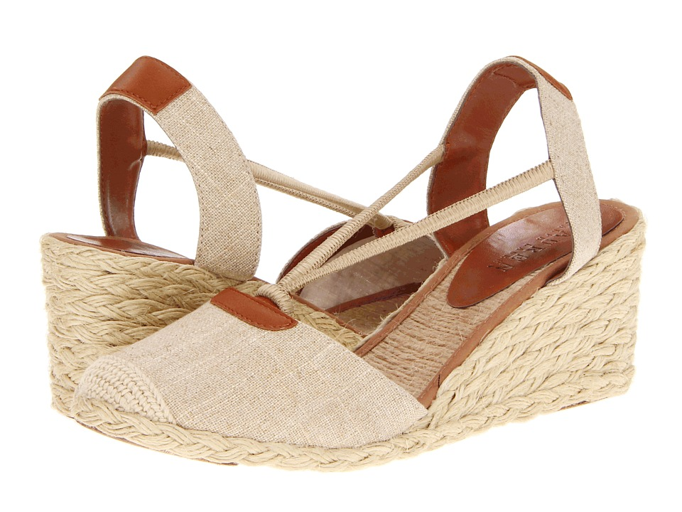 LAUREN by Ralph Lauren - Cala (Natural) Women's Wedge Shoes