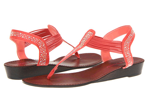 Pink & Pepper Memory (Coral) Women's Sandals
