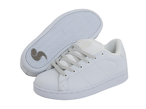 DVS Shoe Company - Revival (White/White Leather) Men