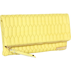 SALE! $86.99 - Save $129 on gorjana Ludlow Large Foldover (Lemon) Bags and Luggage - 59.73% OFF $216.00