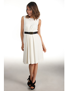 SALE! $41.99 - Save $97 on Tahari by ASL Britanny Crepe Dress 3120M723 (Ivory) Apparel - 69.79% OFF $139.00