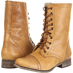 Steve Madden Troopa (Camel Leather) Footwear