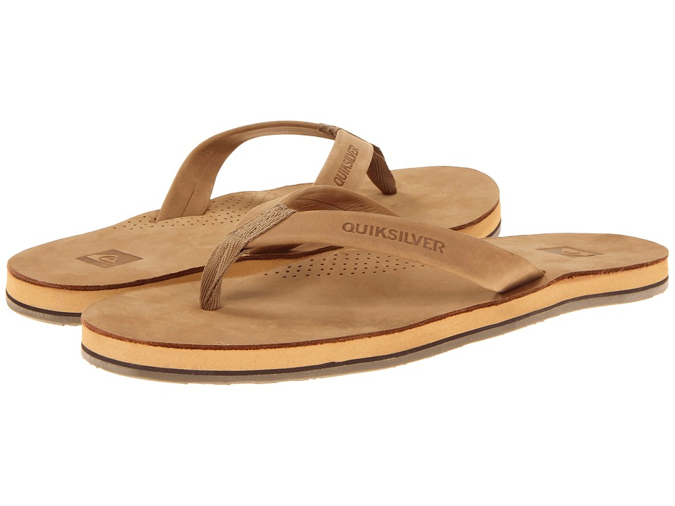 Quiksilver - Stern (Tan) Men's Sandals