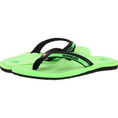 SALE! $16.99 - Save $11 on Quiksilver Kauai (Green Black Green) Footwear - 39.32% OFF $28.00