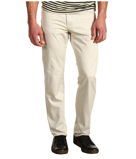 U.S. POLO ASSN. - Slim Straight 5-Pocket Twill Pant (Stone) Men