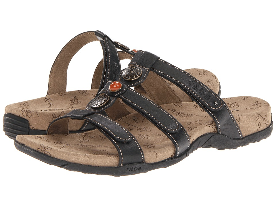 Taos Footwear - Prize (Black) Women's Sandals