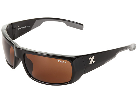 Zeal Optics - Snapshot (Black Gloss w / Copper Non-Polarized Lens) Sport Sunglasses