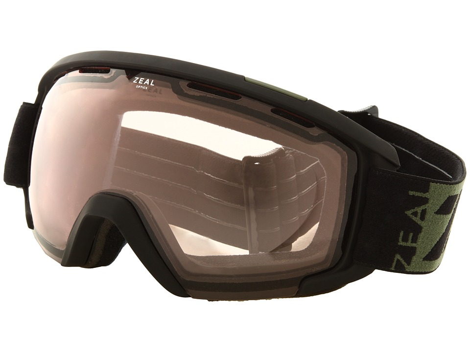 Zeal Optics - Slate (Upland Grass w / Optimum Lens + Automatic) Goggles