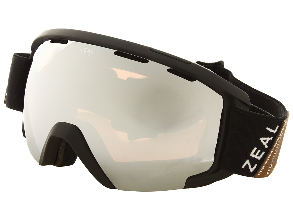 Zeal Optics - Slate (Foundry Black w / Optimum Lens + Metal Mirror) Goggles