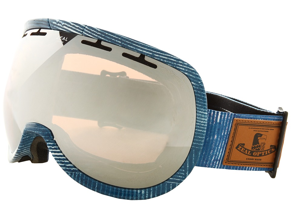 Zeal Optics - Level (MADE Denim w / Optimum Lens + Metal Mirror) Goggles