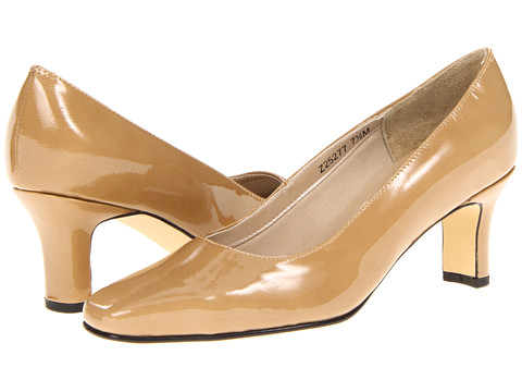 Fitzwell - Vincent Pump (Nude Patent) High Heels