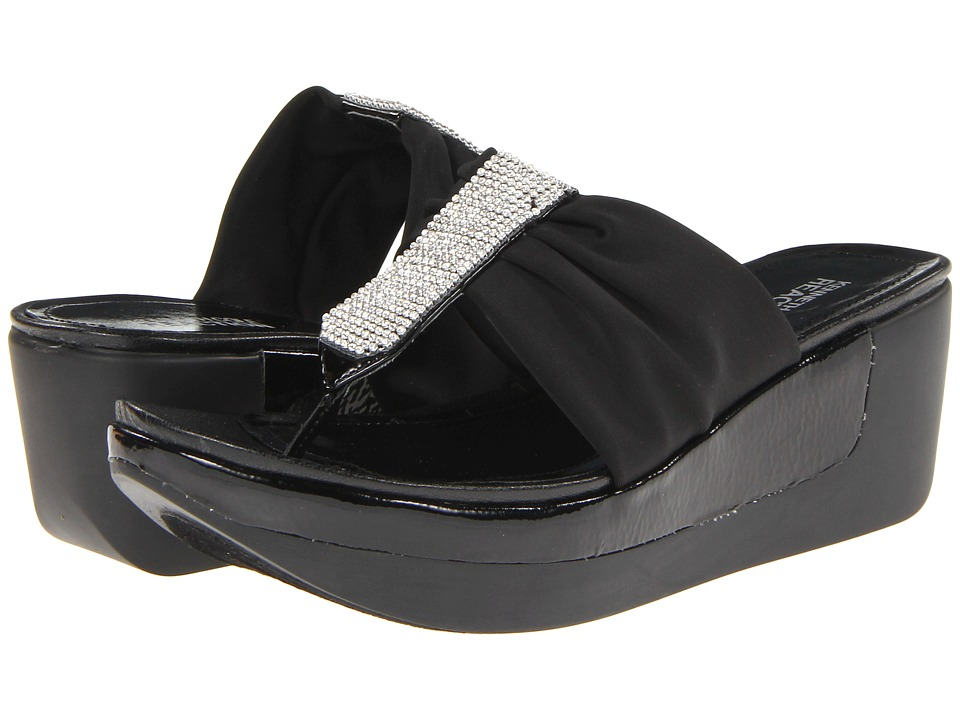 Kenneth Cole Reaction Pepe Rosino Womens Sandals (Black)