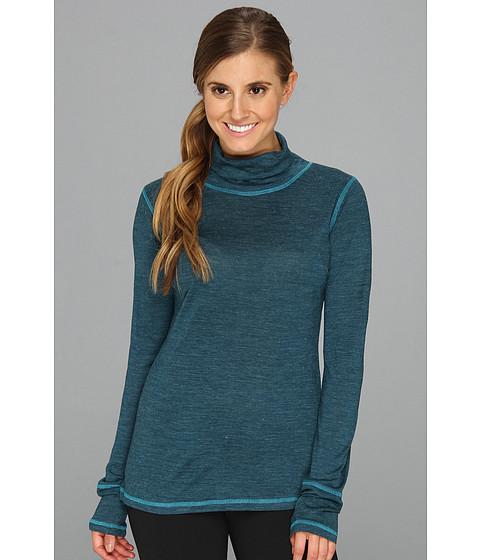 Prana - Yvette L/S Turtleneck Top (Ink Blue) Women