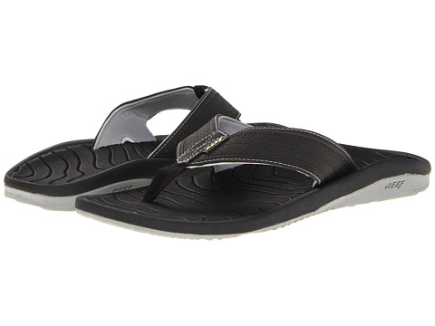 Reef - Swellular Lux (Black) Men's Sandals