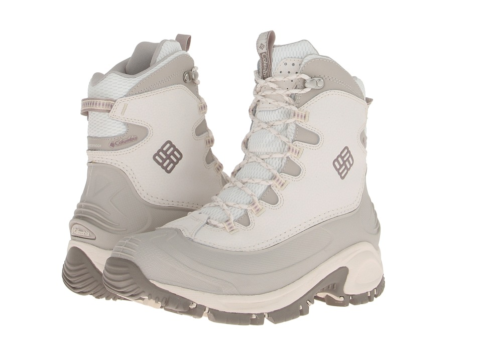 Columbia - Bugaboot (Winter White/Daybreak) Women's Hiking Boots
