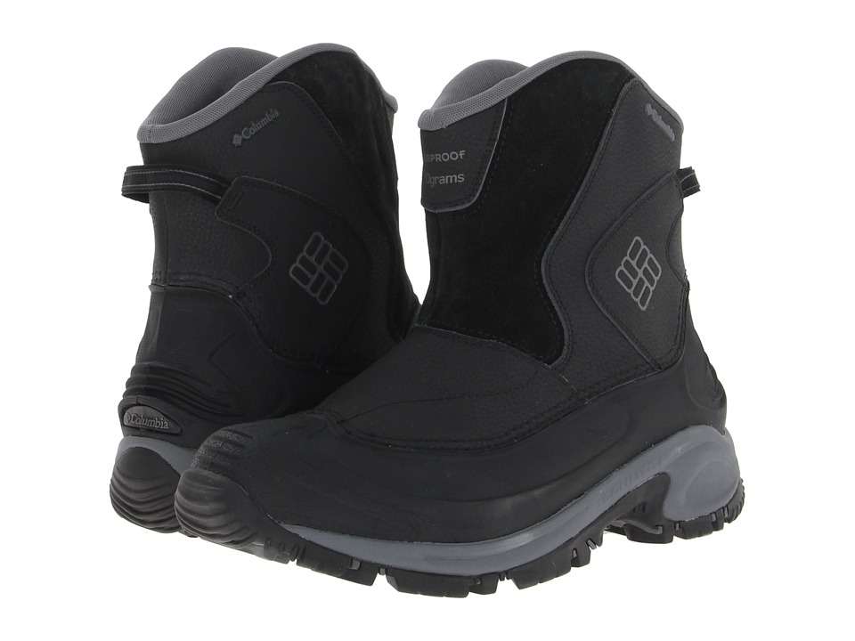 Columbia - Bugaboot Slip (Black/Charcoal) Men