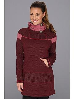 SALE! $76.99 - Save $92 on Prana Caitlyn Tunic Sweater (Pomegranate) Apparel - 54.44% OFF $169.00