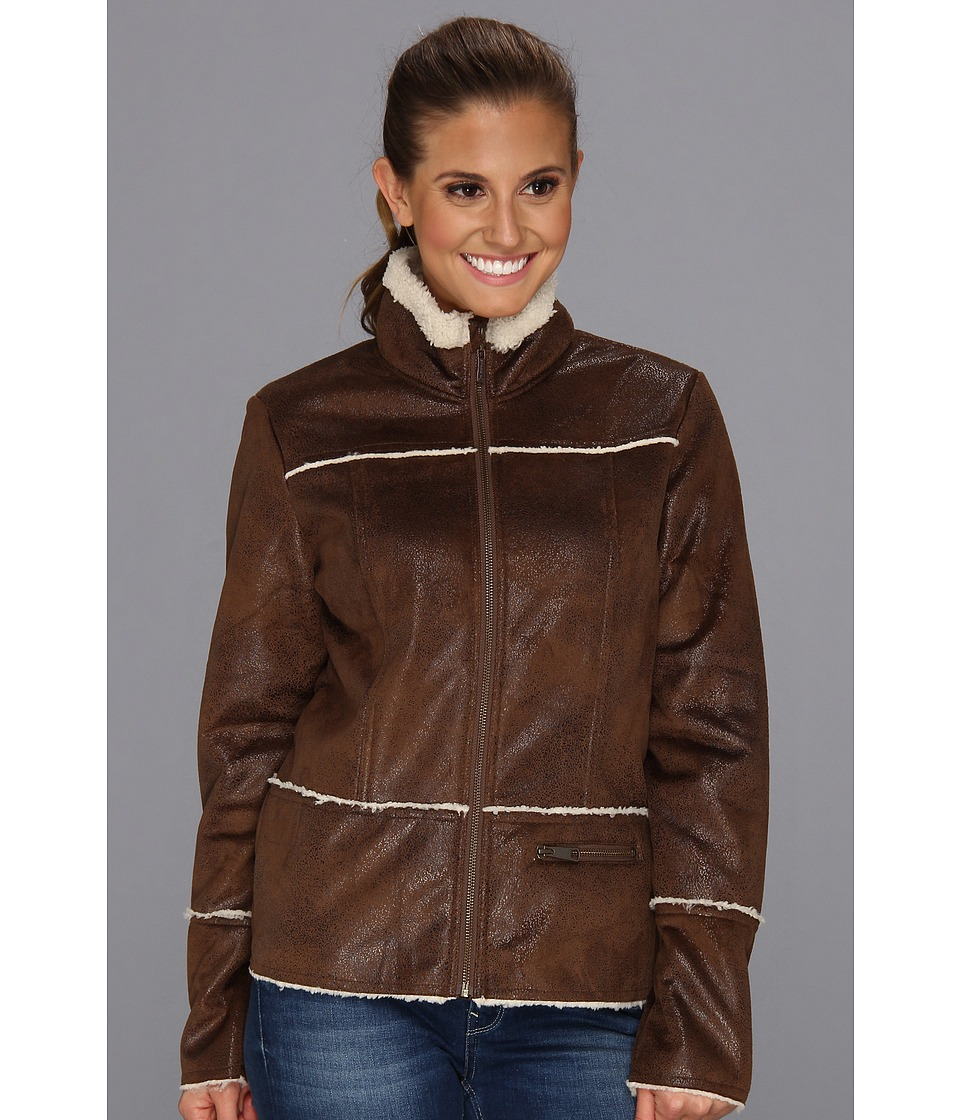 Prana - Esme Jacket (Coffee) Women's Coat