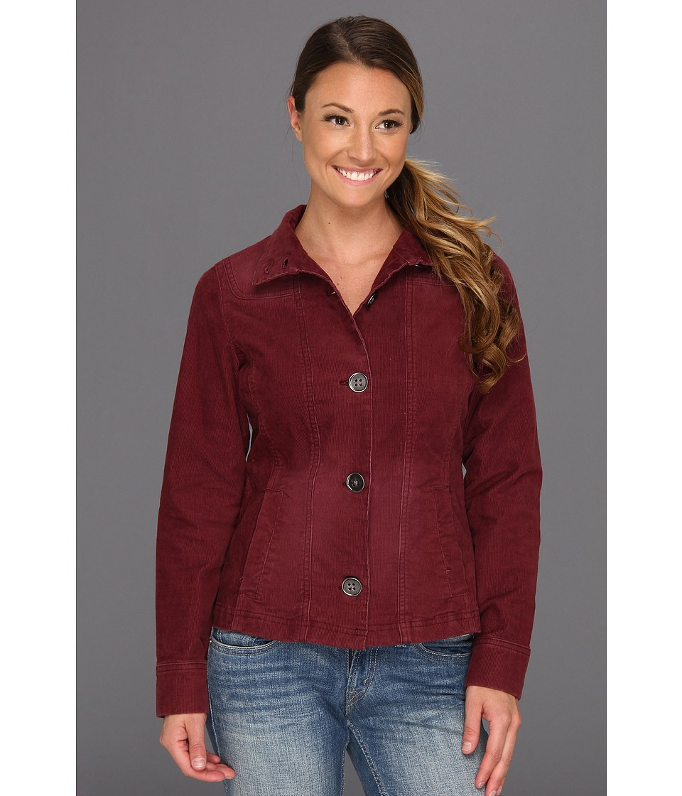 Prana - Kara Cord Jacket (Pomegranate) Women's Coat