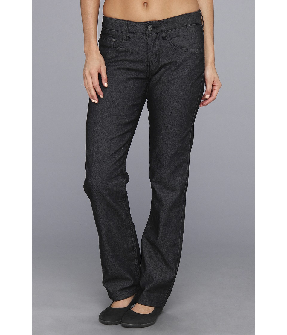 Prana - Lined Boyfriend Jean (Black) Women