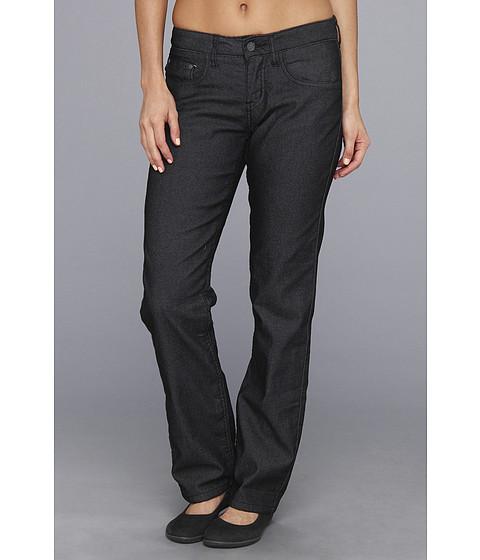 Prana - Lined Boyfriend Jean (Black) Women's Jeans