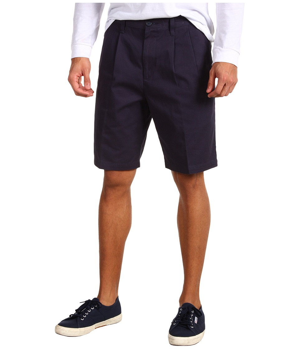 Dockers Men's - D3 Classic Fit Double Pleat Short (Marine) Men's Shorts