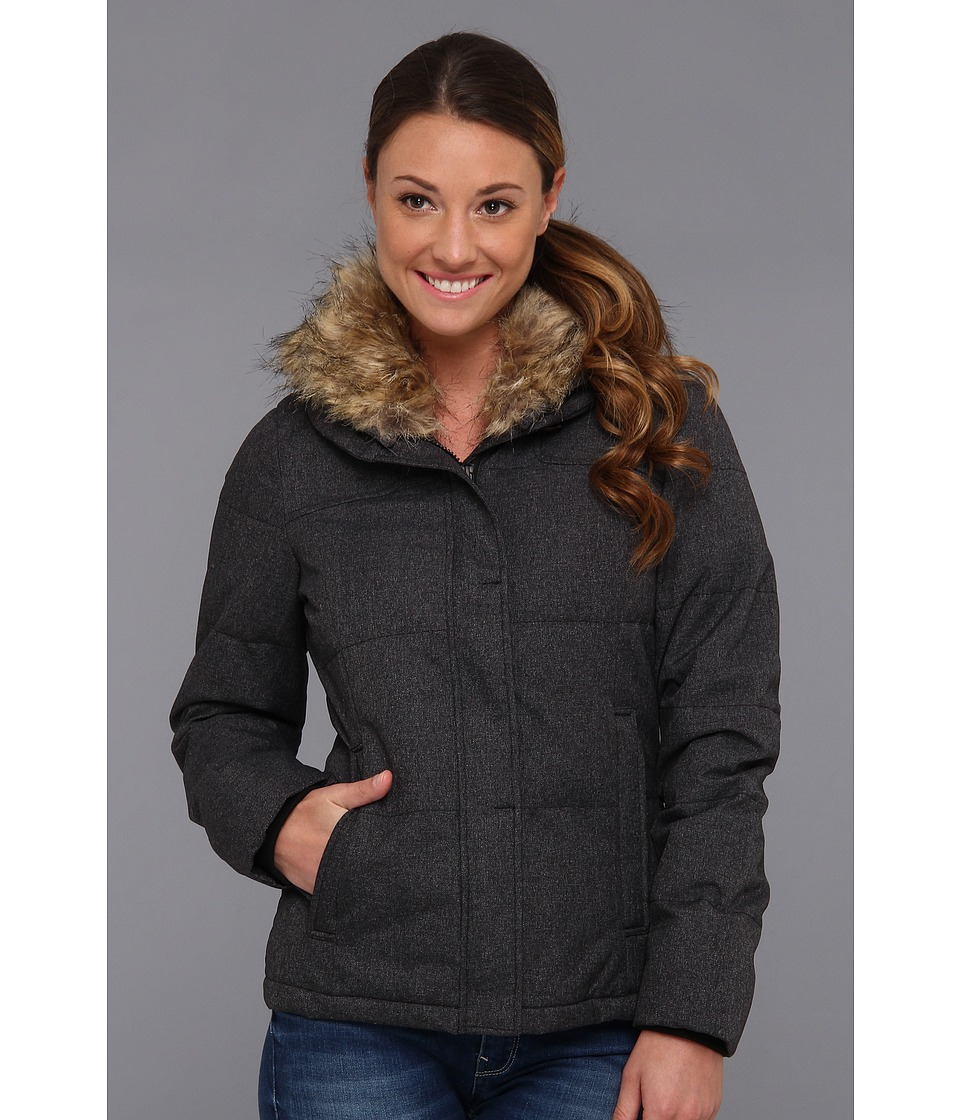 Prana - Jasmine Down Jacket (Black Heather) Women's Coat