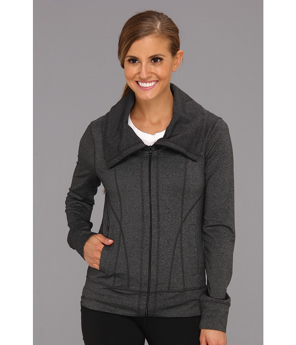 Prana - Cori Jacket (Charcoal Heather) Women's Coat