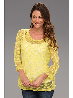 SALE! $11.99 - Save $47 on kensie Slub Knit Sweater (Citrus Green) Apparel - 79.68% OFF $59.00