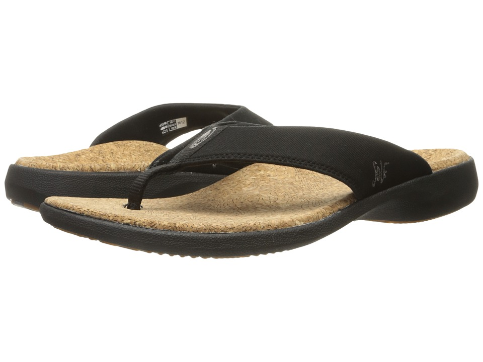 SOLE - Cork Flips (Coal) Men's Toe Open Shoes