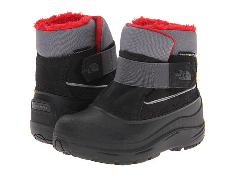 The North Face Kids - Powder-Hound (Toddler) (TNF Black/Zinc Grey) Boys Shoes