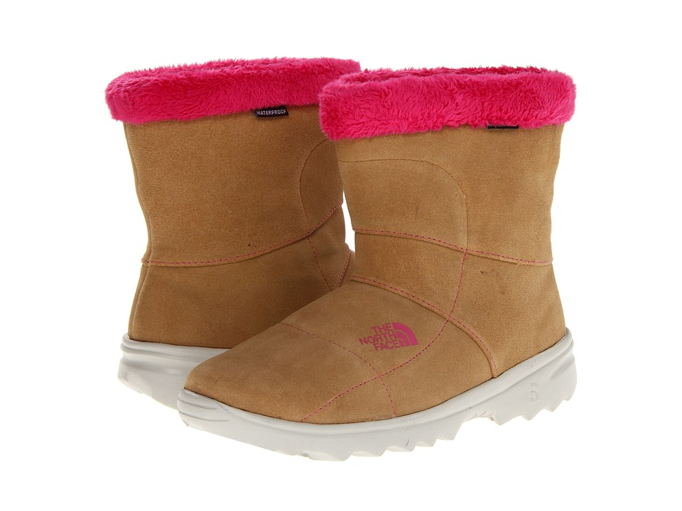 The North Face Kids - Kinley Oso Bootie (Little Kid/Big Kid) (Curry Brown/Petticoat Pink) Girls Shoes