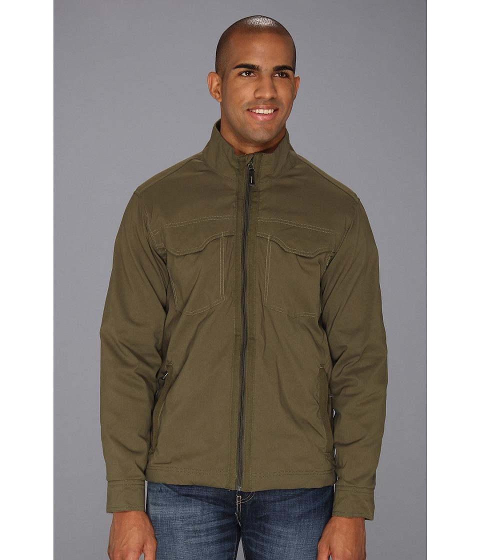Prana - Ogden Jacket (Cargo Green) Men's Coat