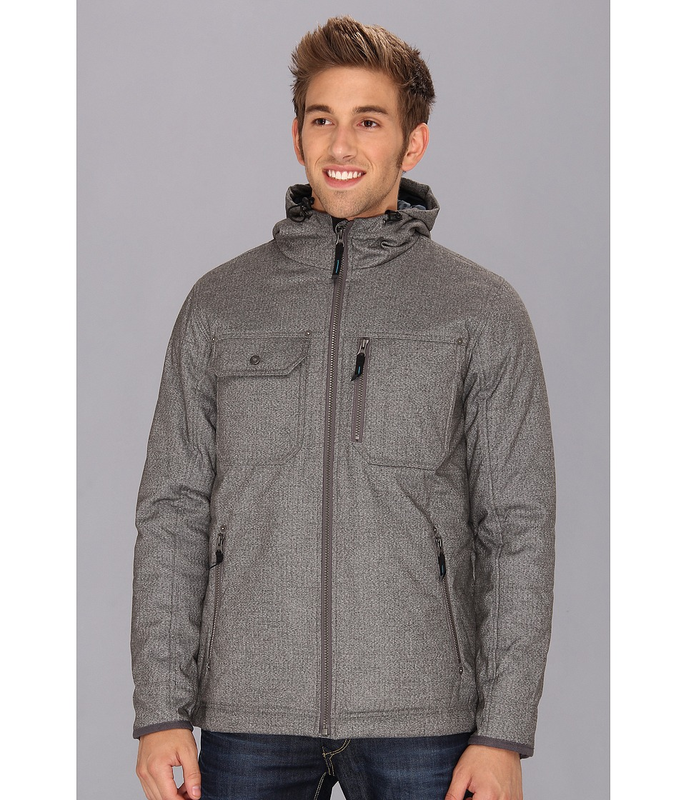 Prana - Eureka Jacket (Charcoal) Men's Coat