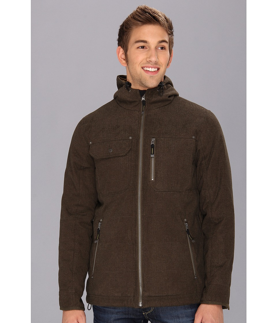 Prana - Eureka Jacket (Dark Olive) Men's Coat