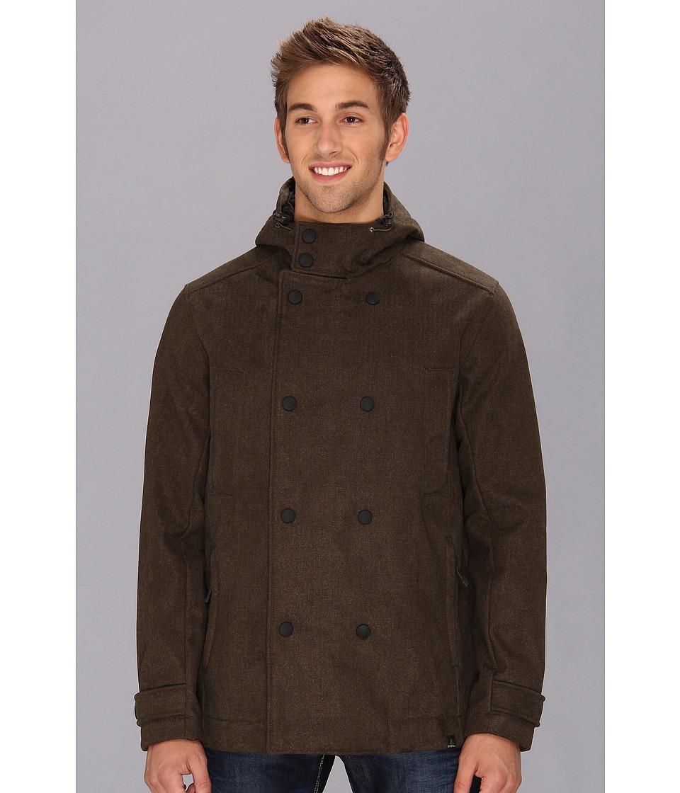 Prana - Elkton Jacket (Dark Olive) Men's Coat